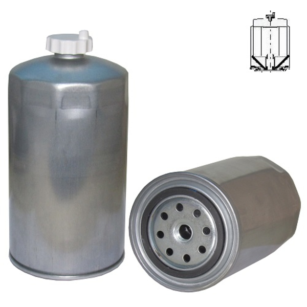 SP1470M FUEL FILTER, WATER SEPARATOR SPIN-ON TWIST & DRAIN