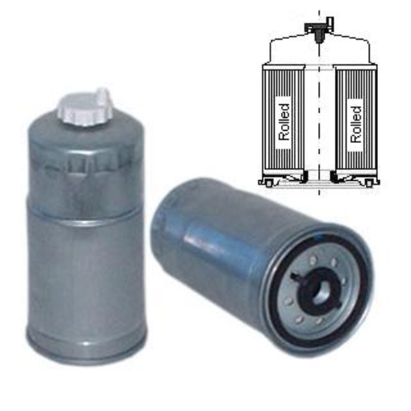 SP997M FUEL FILTER, WATER SEPARATOR SPIN-ON TWIST DRAIN